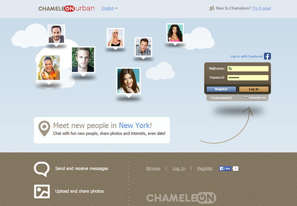 chameleon dating software