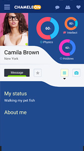 Chameleon ster social network dating software